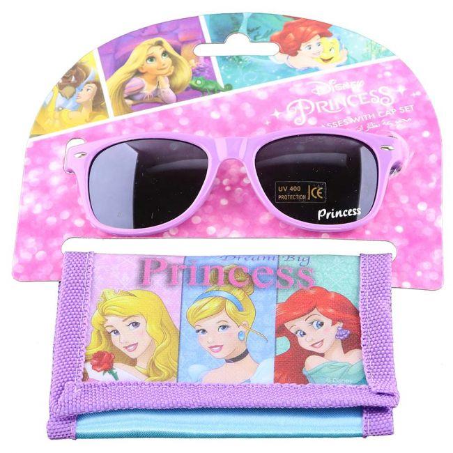 Disney - Princess Kids Girls Sunglasses With Wallet Set