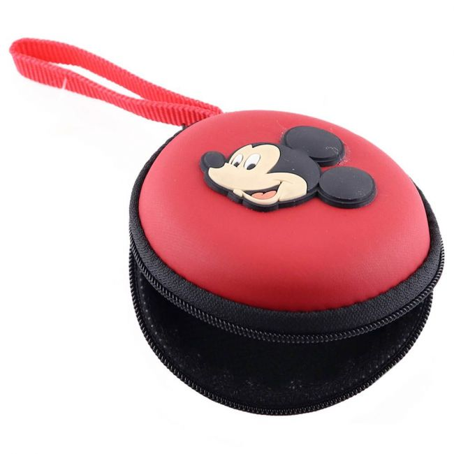 Disney - Mickey Mouse Eva Earphone/Coin Pouch For Kids