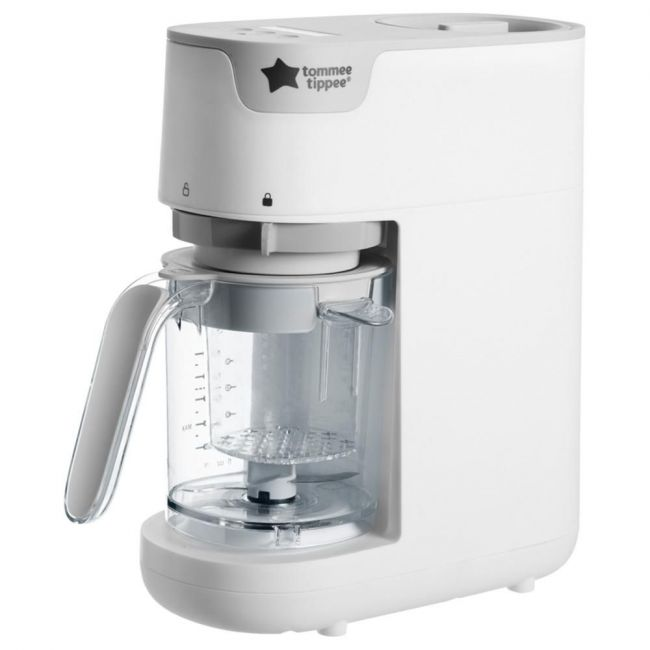 Tommee Tippee Quick Cook Baby Food Steamer Blender-White