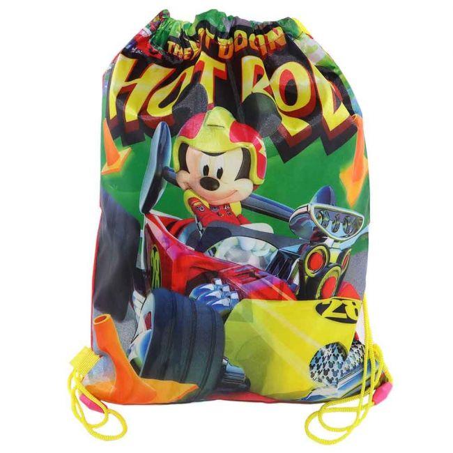 Disney - Mickey Mouse Drawstring Bag /Rucksack For Kids