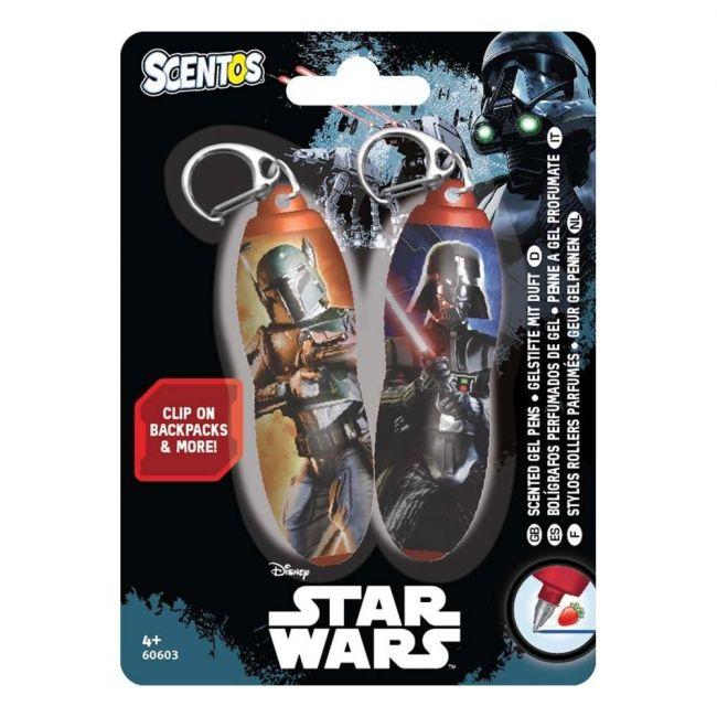 Scentos Scented Mini Gel Pen Keychains - Star Wars (2pcs)