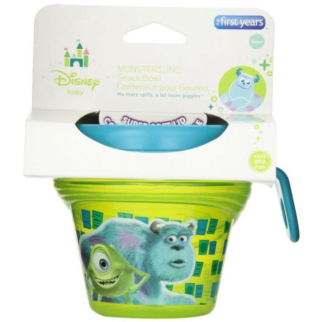 The First Years Green Monsters Kid's Snack Bowl