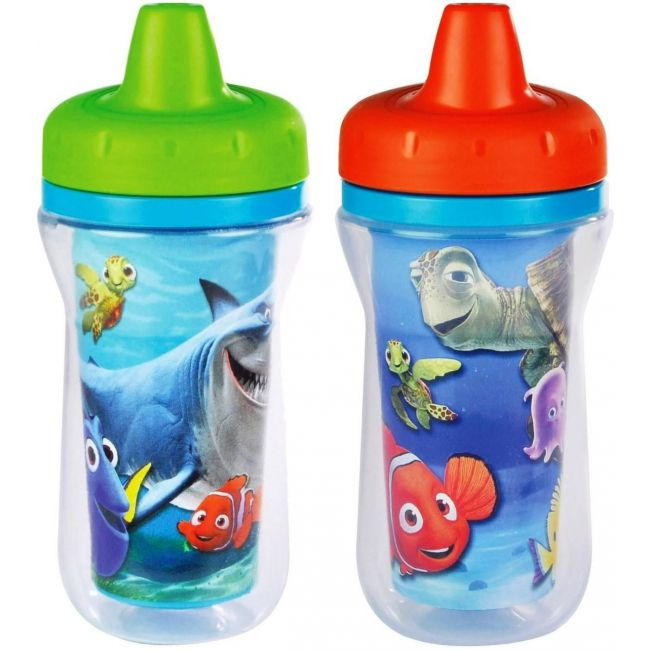 The First Years Disney Nemo Insulated Sippy Cup 2 Pack