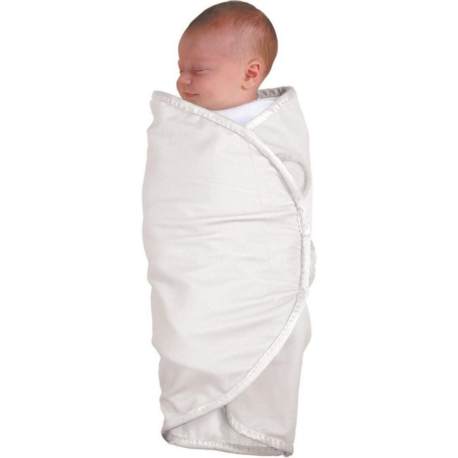The First Years White Organic Cotton Swaddler 2-pack