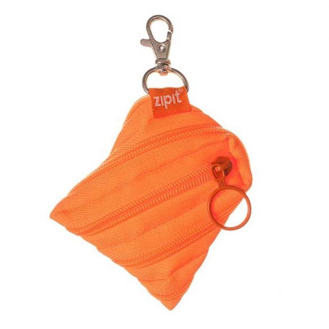 Zipit Neon Mini Pouch Crazy Orange