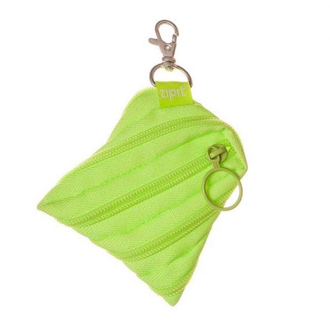 Zipit Neon Mini Pouch Radiant Lime