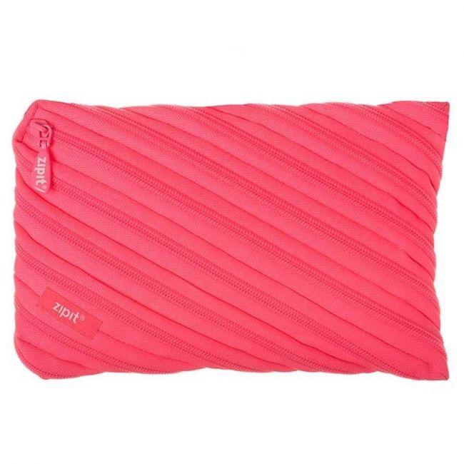 Zipit Neon Jumbo Pouch Dazzling Pink