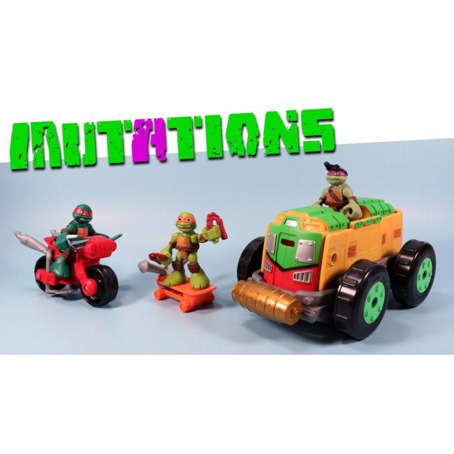 Teenage Mutant Ninja Turtles - Half Shell Heroes Mutation Vehicle With Fig
