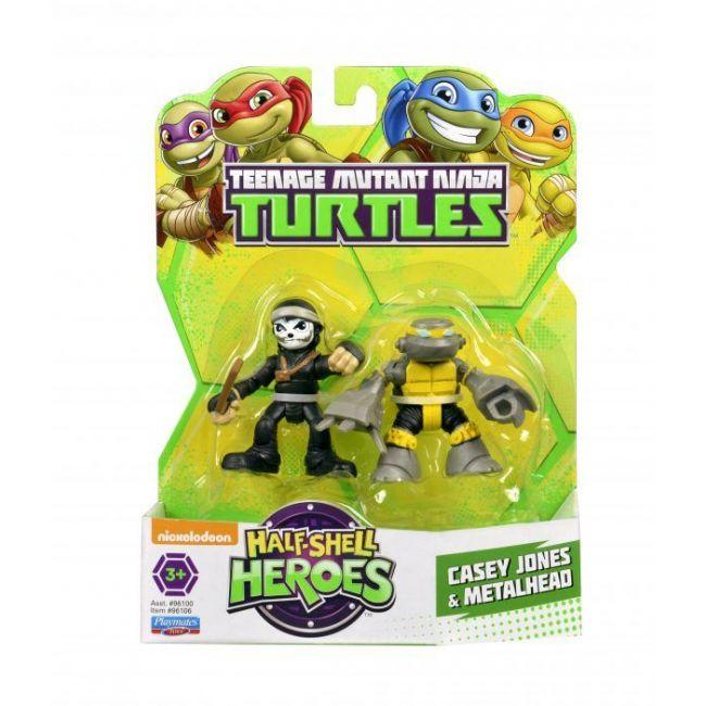 Teenage Mutant Ninja Turtles - Hsh 2 5 Figures 2 Pack