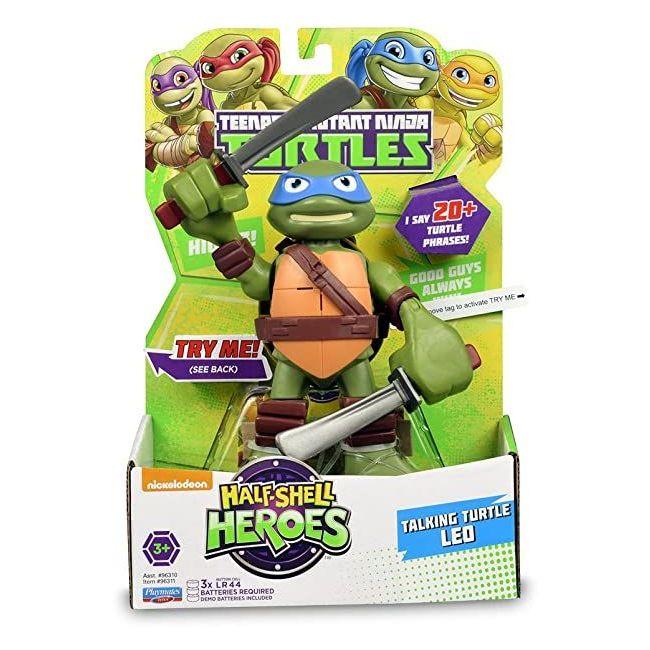 Teenage Mutant Ninja Turtles - Hsh 6 Talking Turtles Figure