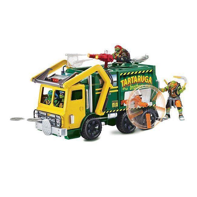 Teenage Mutant Ninja Turtles - Movie Group Vehicle Garbage Truck