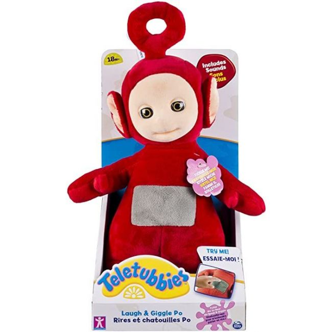 Teletubbies - 10 Inch Laugh Giggle Interactive Plush