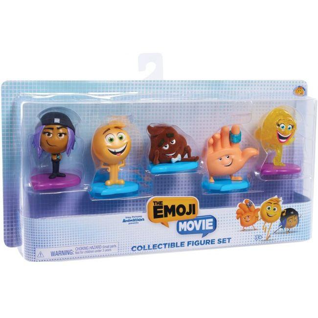 The Emoji Movie - Collectible Figures Set