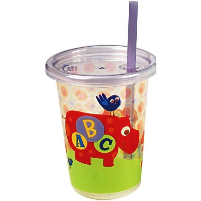 The First Years ABC Fun - Take & Toss - Straw Cup - 3pcs