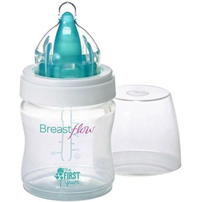 The First Years Breastflow BPA Free Baby Bottle - 5oz