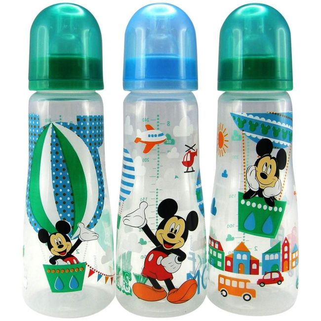The First Years Disney Baby Mickey Mouse Slim Bottles 3 Pack