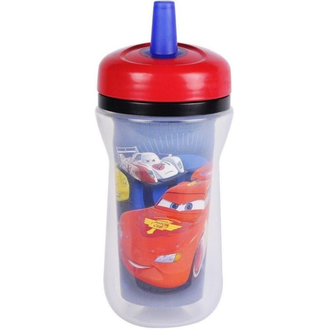 The First Years Disney Cars Insulated Straw Cup - 9oz