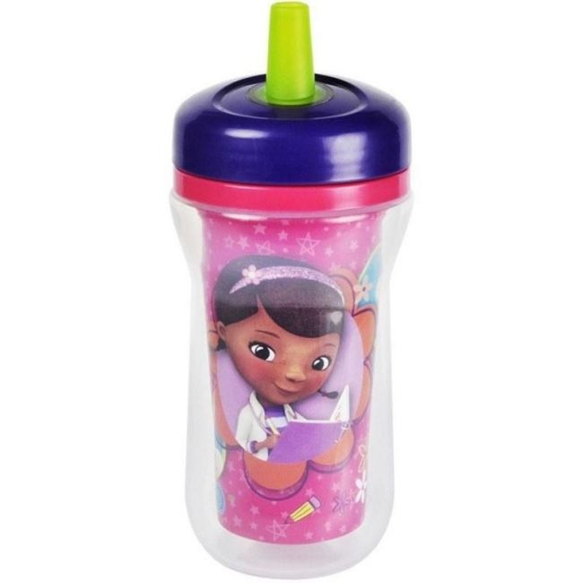 The First Years Disney Doc Insulated Straw Cup - 9oz