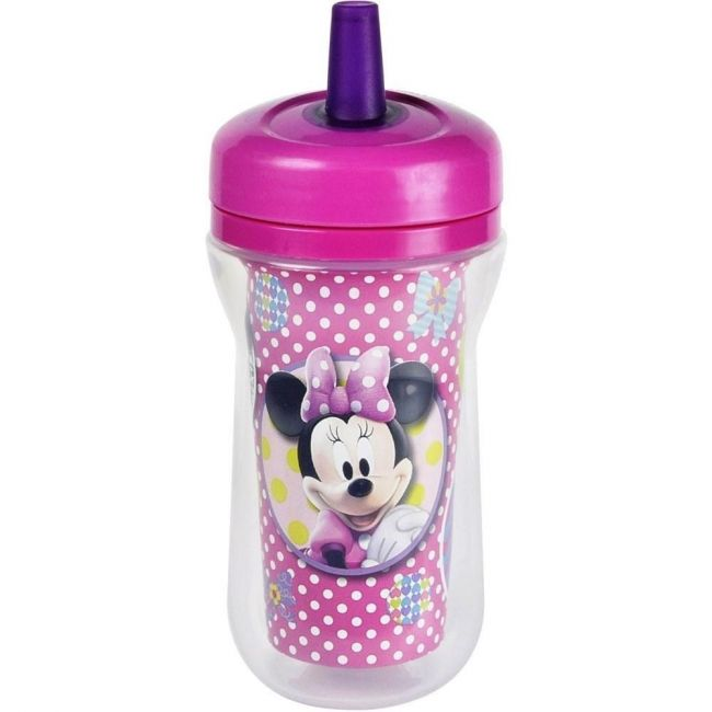 The First Years Disney Minnie Mouse Insulated Straw Cup - 9oz
