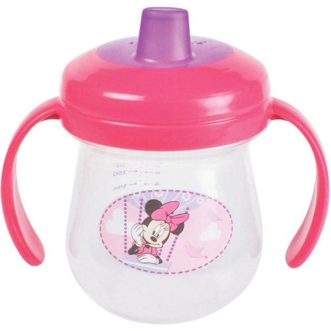 The First Years Minnie Soft Spout Trainer Cup with Handles - 7oz