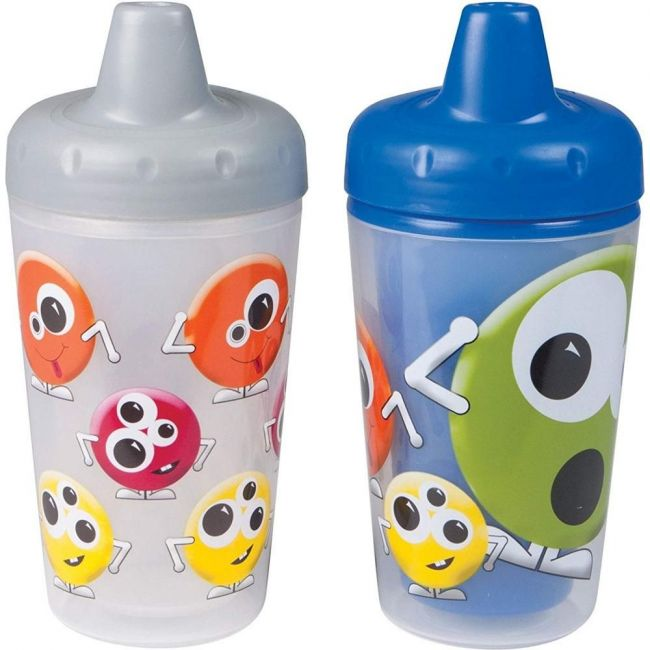 The First Years Smart Sipper Spill-proof Insulated Cups - Monsters - 2pcs