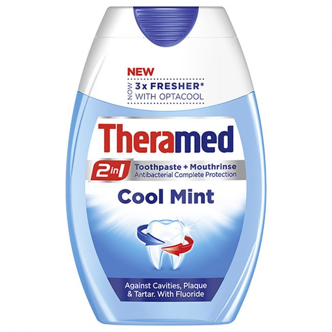 Theramed - Cool Mint Toothpaste & Mouthrinse - 75ml