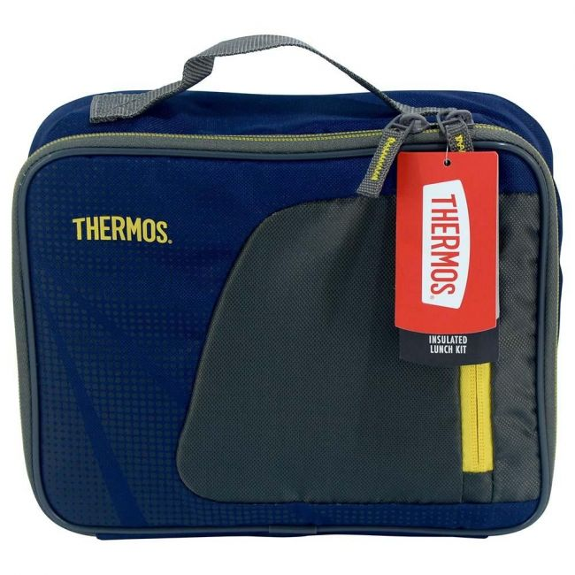 Thermos Radiance-Lunch Kit-Navy/Yellow