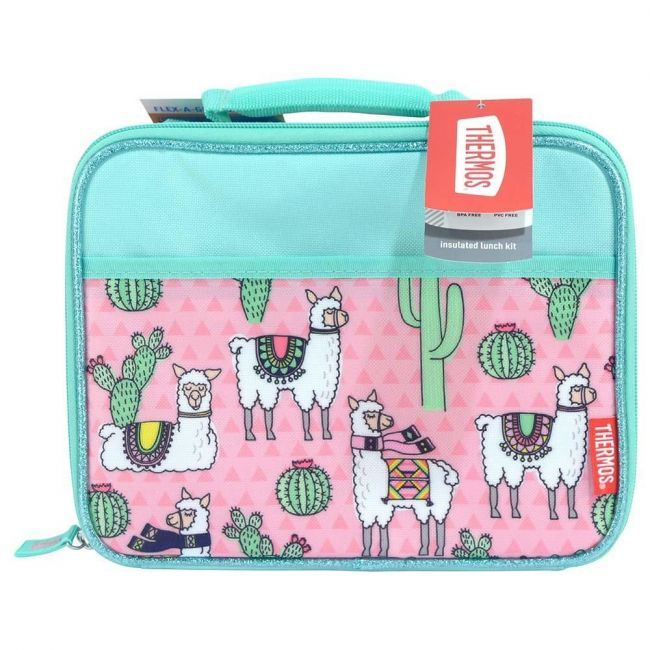 Thermos Standard Lunch Kit With Ldpe Liner-Desert Lamas