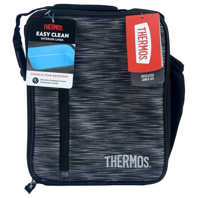 Thermos Uprights With Ldpe Liner - Boy Black Grey