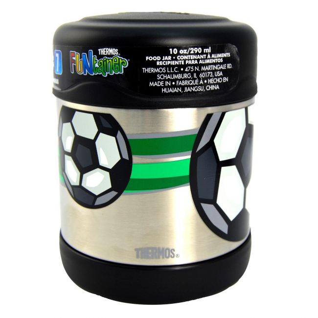 Thermos Funtainer Stainless Steel Food Jar 290ml Football