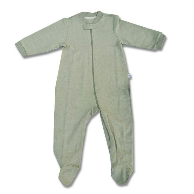 Tickle Tickle Nature's Own Zipup Suit - Green