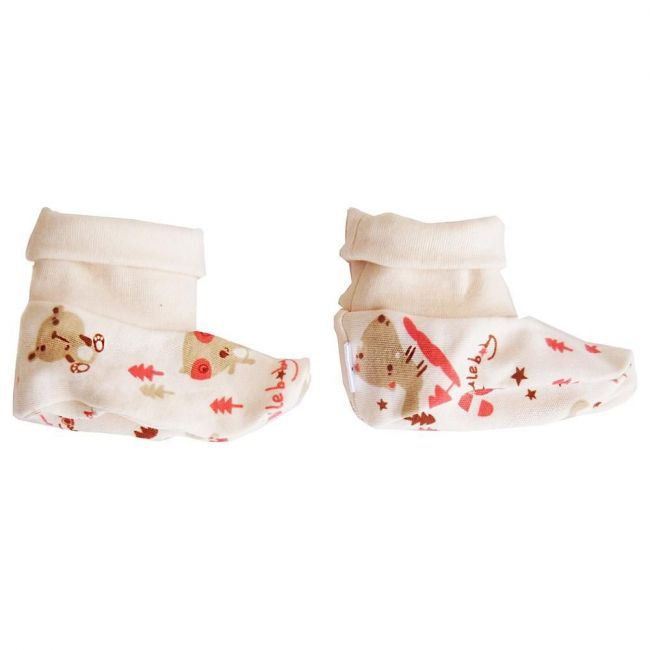 Tickle Tickle - Zuzu The Koala Booties Cream Free Size