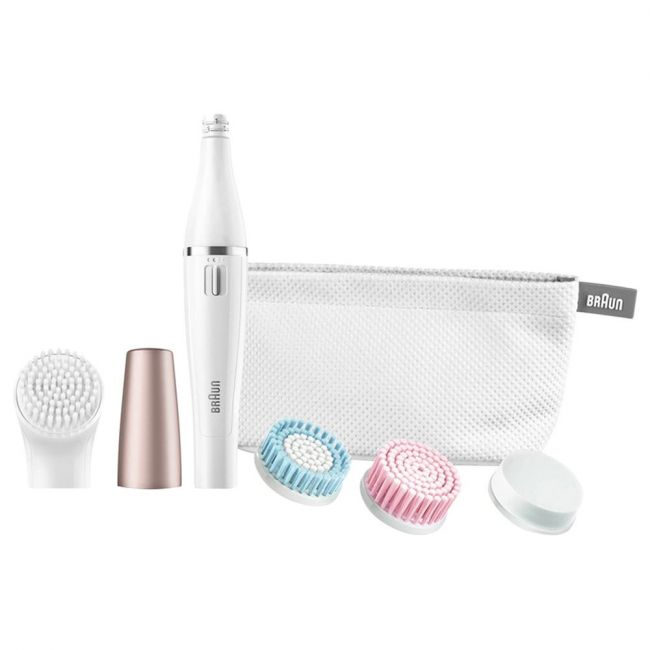 Braun Face 851 Beauty Edition Facial Cleansing Brush, White