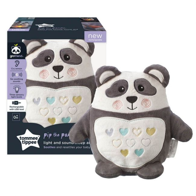 Tommee Tippee - Pip The Panda Rechargeable Light And Sound Sleep Aid