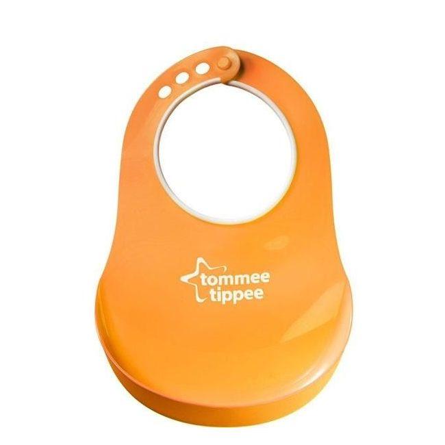 Tommee Tippee Essentials Orange Comfi Neck Catch All Bib