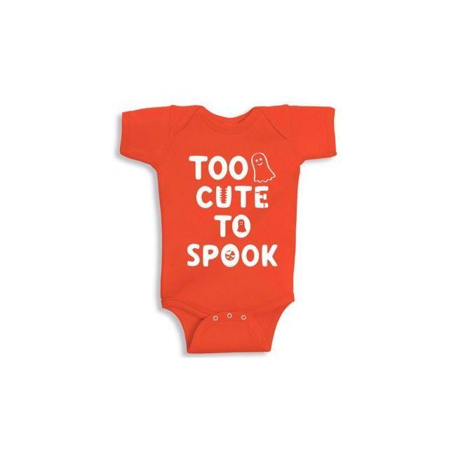 Twinkle Hands Too Cute to spoke Halloween Baby Onesie, Bodysuit, Romper
