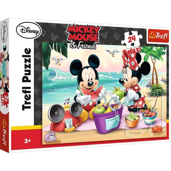 Trefl - Maxi 24 Mickey