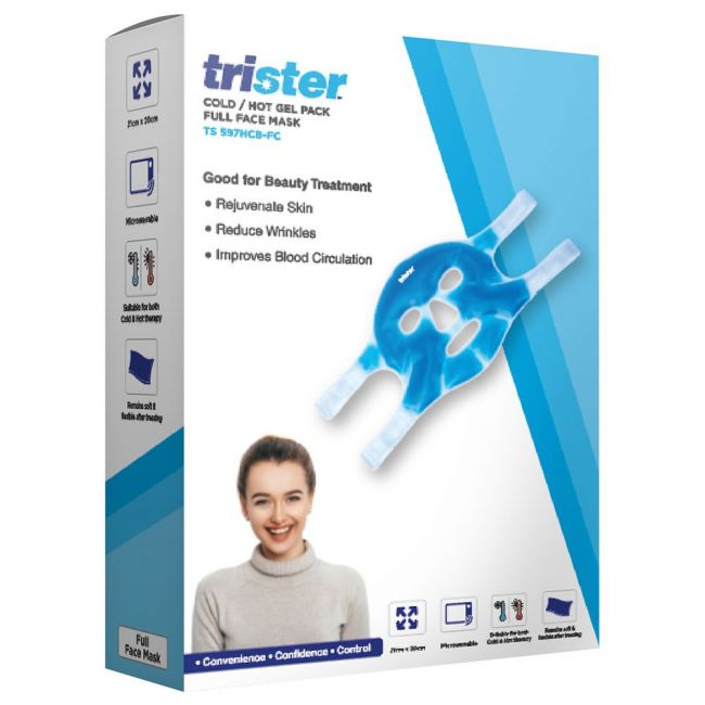 Trister - Cold / Hot Gel Pack Full Face Mask : Ts-597Hcb-Fc