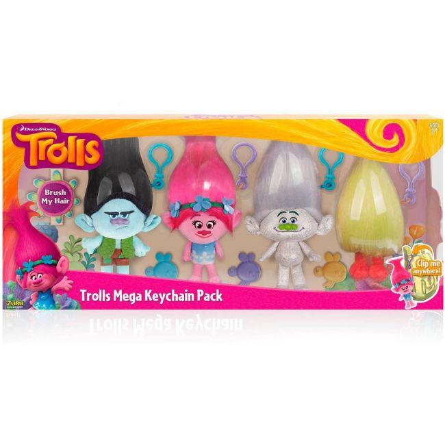 Trolls - Large Plush Key Chain