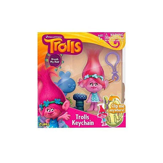 Trolls - Medium Key Cha In 4 Pk