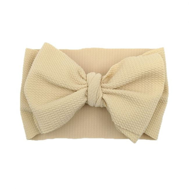 The Berry Street - Waffle Bow - Beige