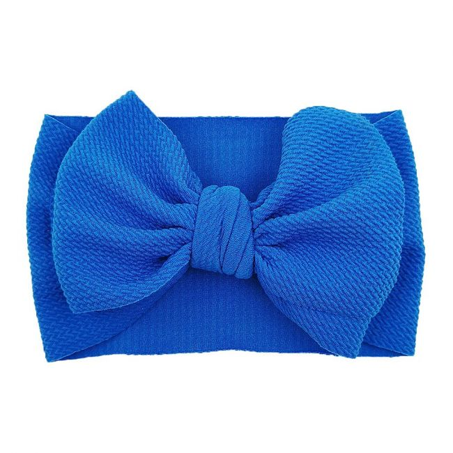 The Berry Street - Waffle Bow - Royal Blue
