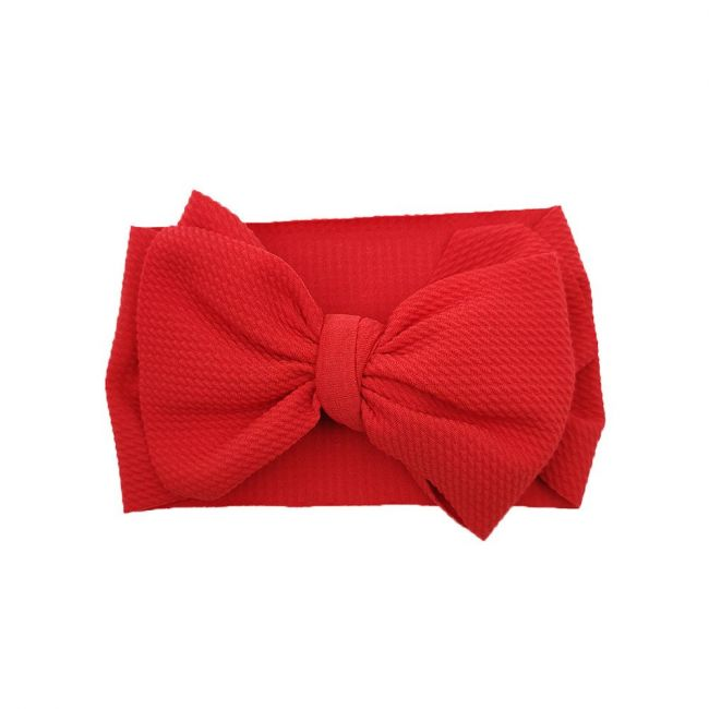 The Berry Street - Waffle Bow - Red
