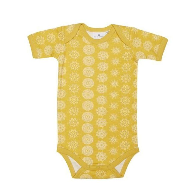 Two Tyke Short Sleeve Morocco Baby Suit
