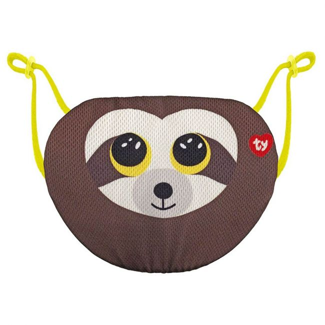 Ty - Beanie Boo Face Mask Sloth Dangler - Brown