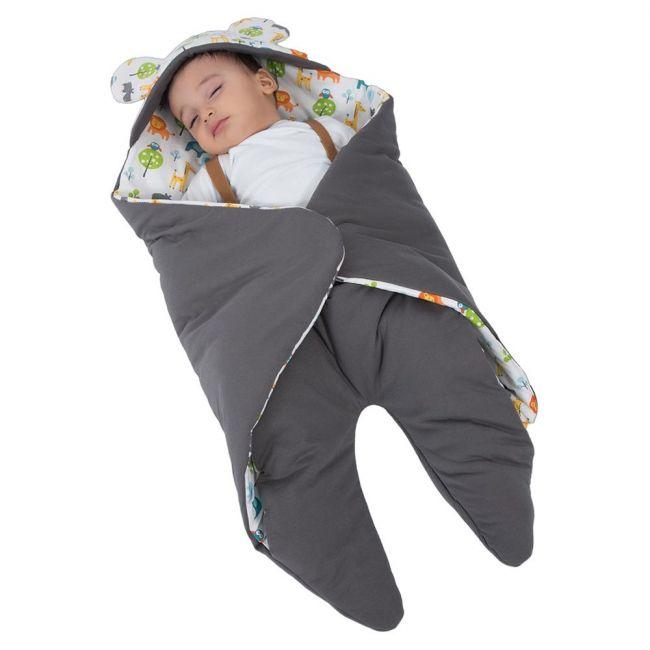 Ubeybi - Sleeping Bag For Stroller & Car Seat - Grey