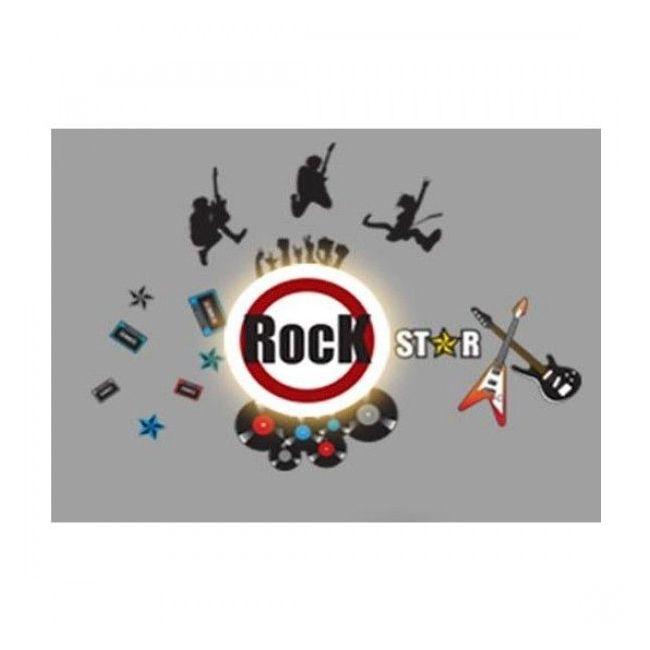 BabyZoo Cordless Wall D cor Light Rock Star