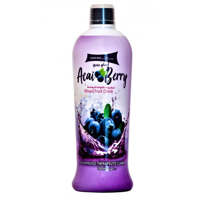 Unified - Acai Berry Juice Mixed Fruit Drink - 1000ml