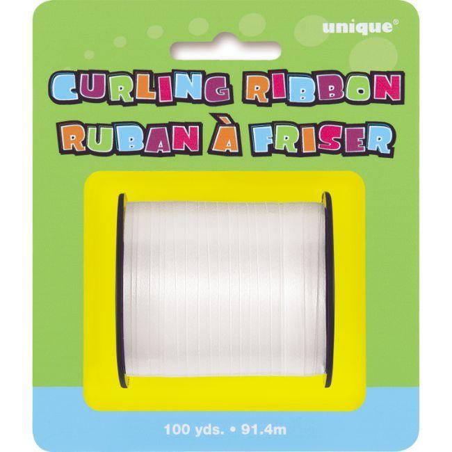 Unique - 100 Yards White Curling Ribbon