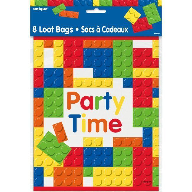 Unique - Building Blocks Birthday Lootbag